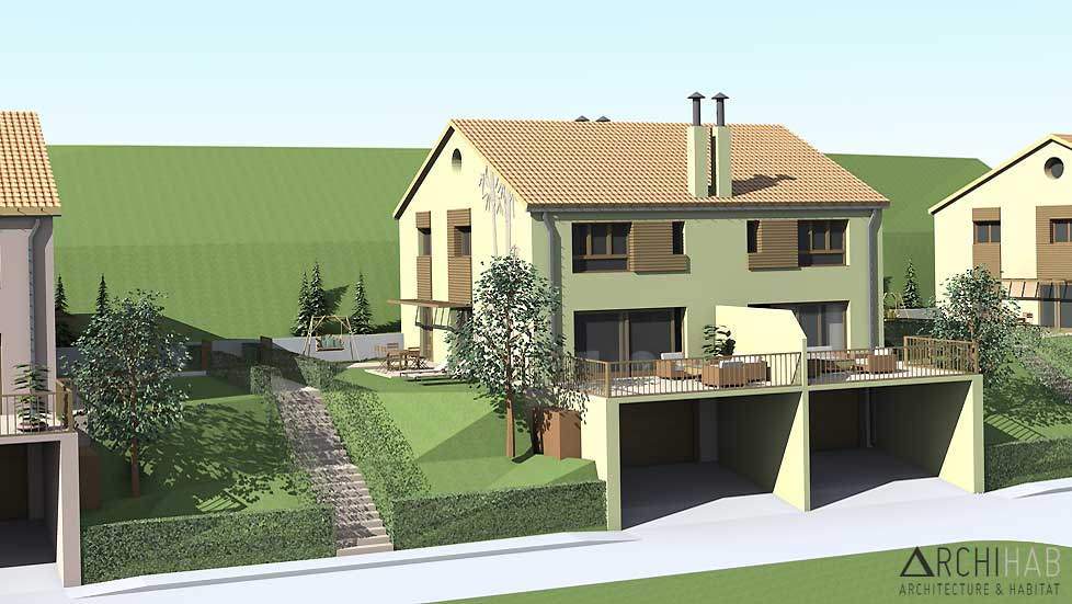 Archihab : Villas familiales
