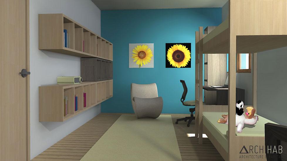 Archihab : chambre d
