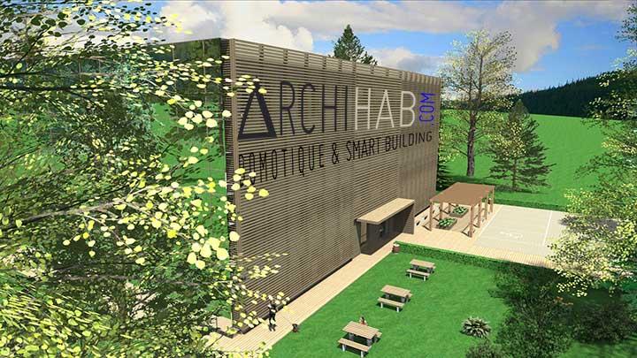 Archihab développe depuis 2011 un concept unique d'Eco-village