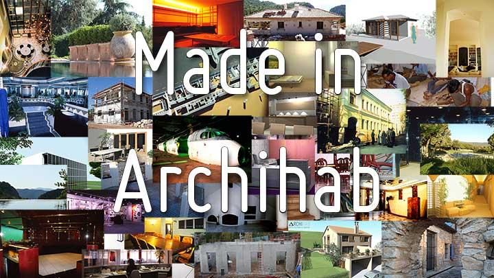 Quelques exemples de projets réalisés par le bureau d'études Archihab